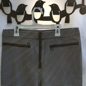 Urban Outfitters zippered checked ankle pants